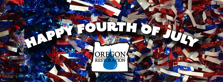 Firework Safety Tips from Oregon Restoration Co.