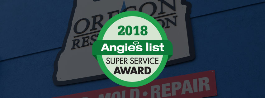 Oregon Restoration Earns 2018 Angie's List Super Service Award