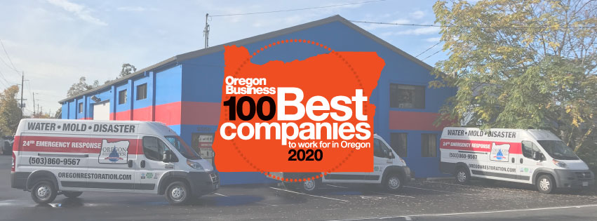 2020 Oregon Top 100 Companies Winner Oregon Restoration