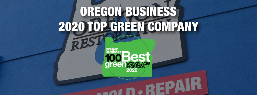 Oregon Restoration Company Wins Oregon Top 2020 Green Company Award
